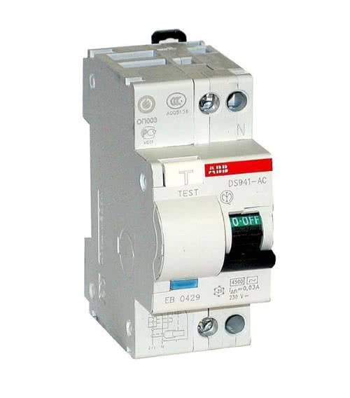 Дифавтомат от ABB